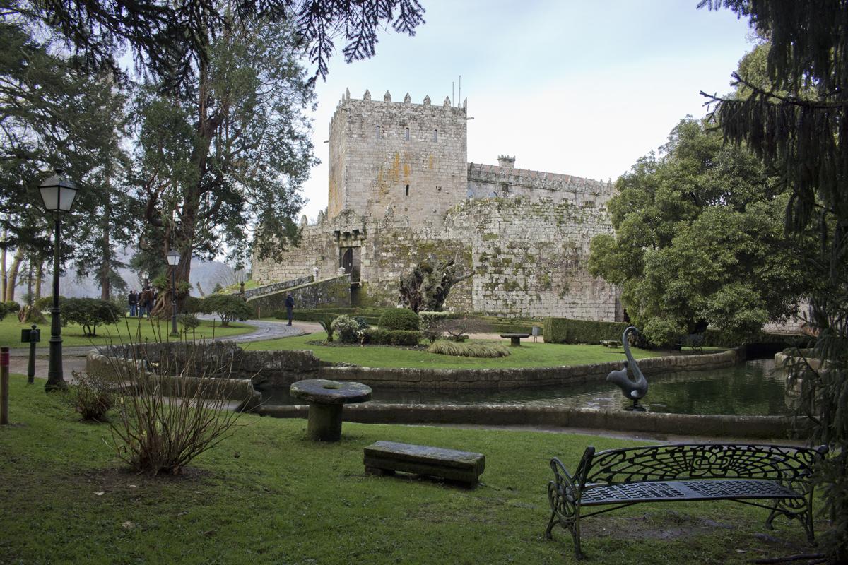 Castillo de Soutomaior, sendas