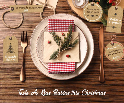 Taste this Christmas in As Rías Baixas