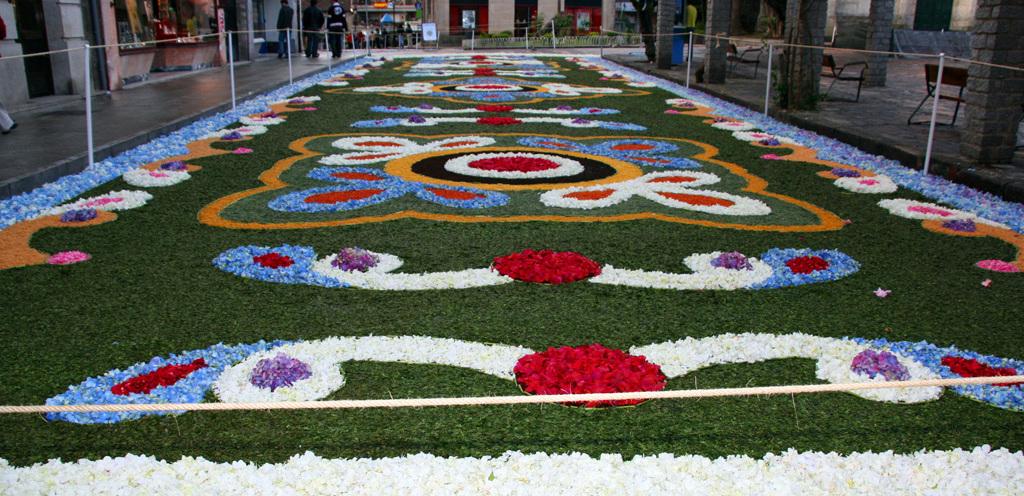 Alfombras florales de Ponteareas