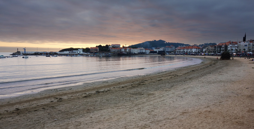 Saint John lights up As Rías Baixas