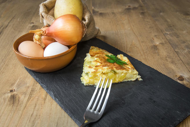Tortilla de Laro