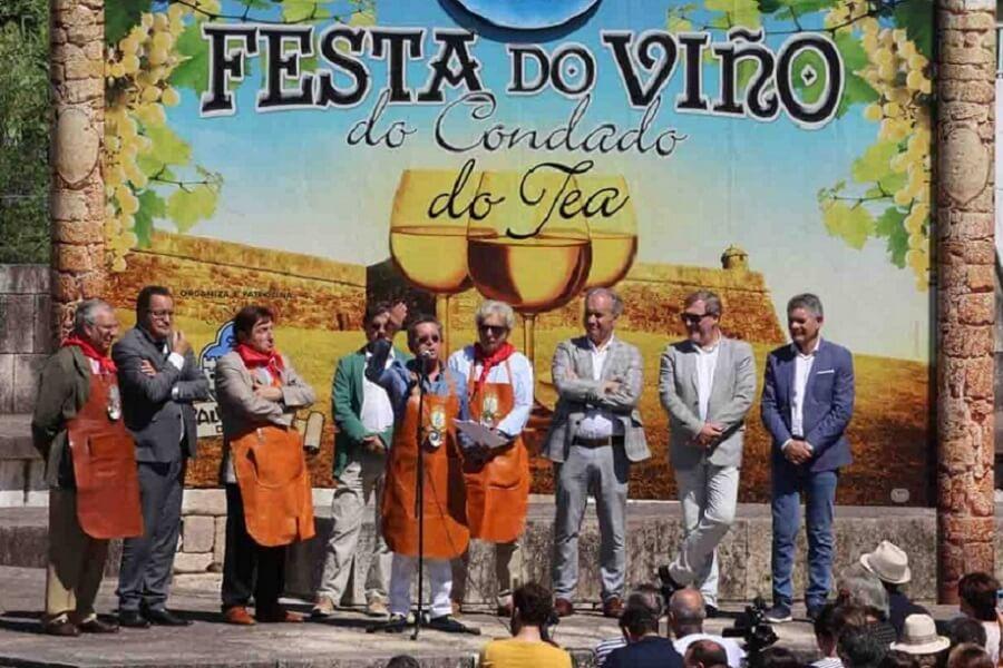 Festa do Viño do Condado de Tea en Salvaterra do Miño, Pontevedra