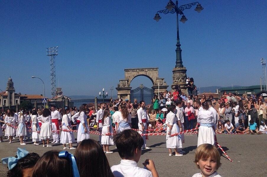 Danza de las Espadas en Marín, Pontevedra
