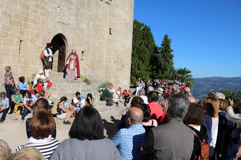 Visita teatralizada Castillo de Sobroso
