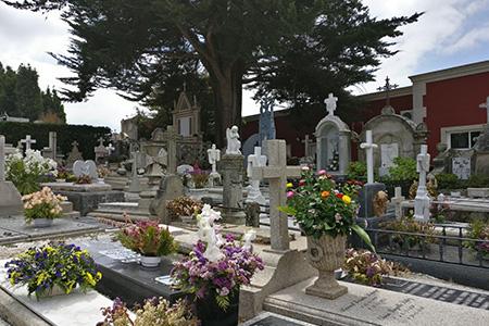 Cementerio de Santa Mariña Dozo, Cambados
