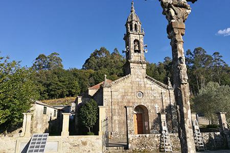 Cementerio de Arcos de Furcos, Cuntis