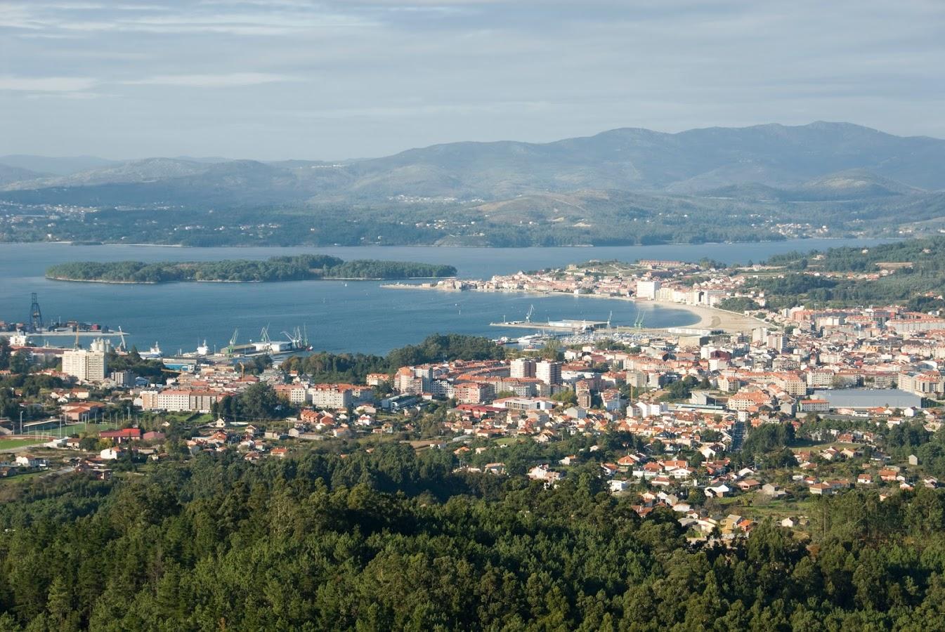 Panoramíca Isla de Cortegada