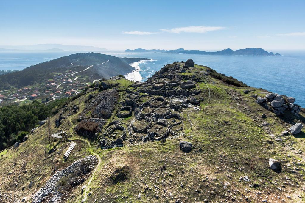 Miradoiro Monte de O Facho en Cangas