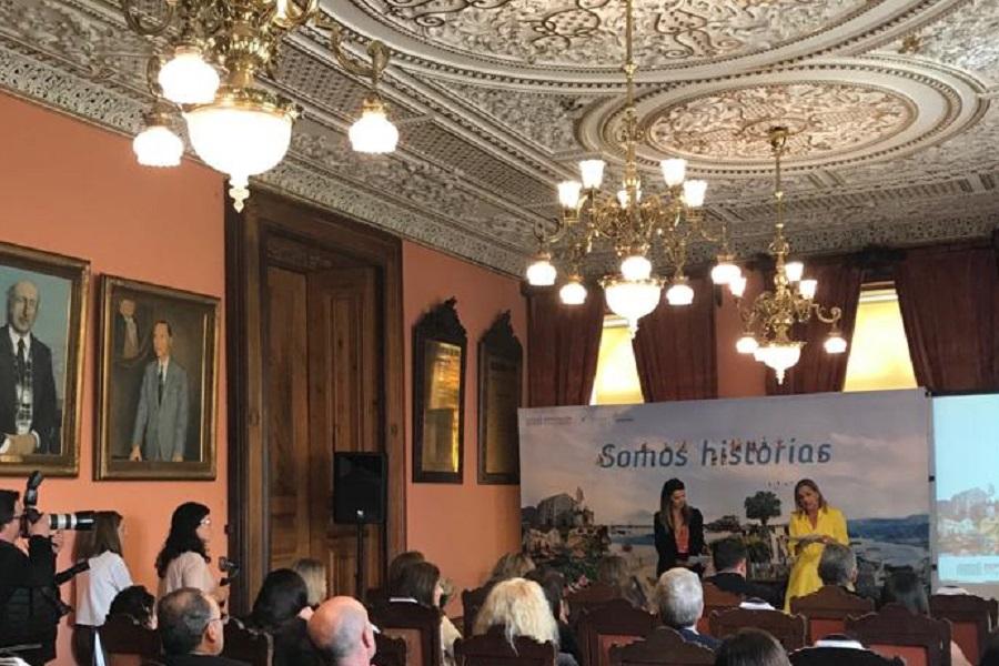 Presentación en O Porto da Campaña de Turismo Pontevedra, Somos Historias