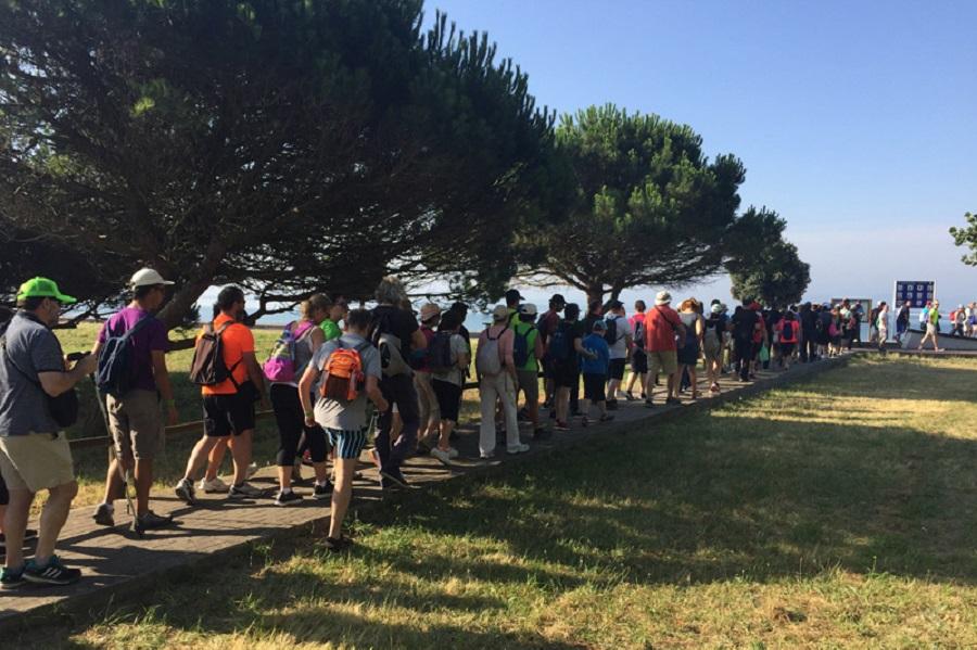 DepoAndaina, rutas senderismo Deputación Pontevedra