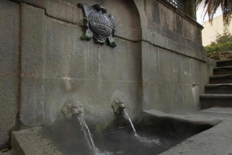 Fuente termal da Burga, Caldas de Reis