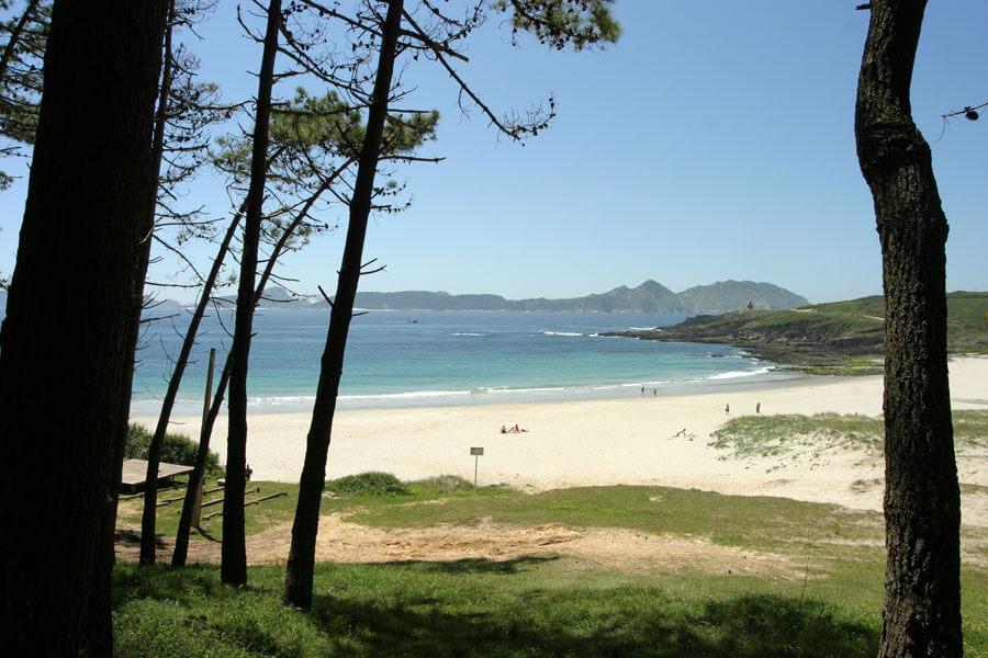 Playa de Melide en Cangas, Pontevedra