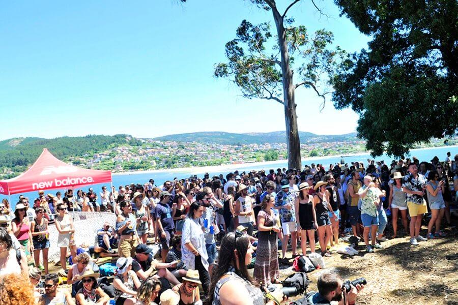 Festival Sinsal en Illa San Simón, Pontevedra