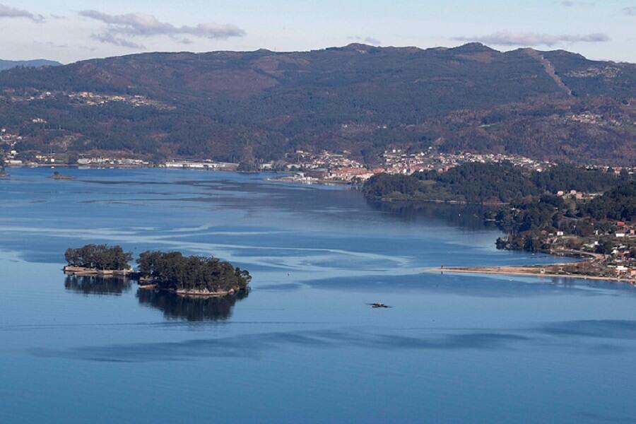 Illa de San Simón en Rías Baixas