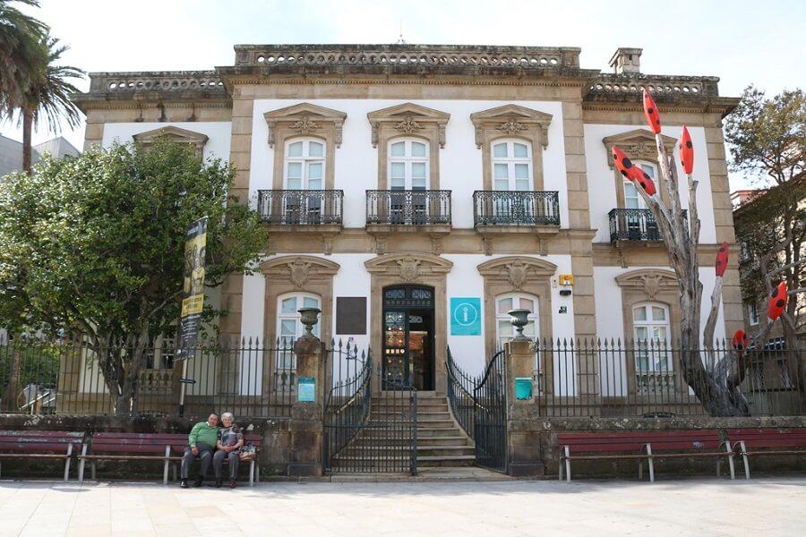 Palacete de las Mendozas en Pontevedra