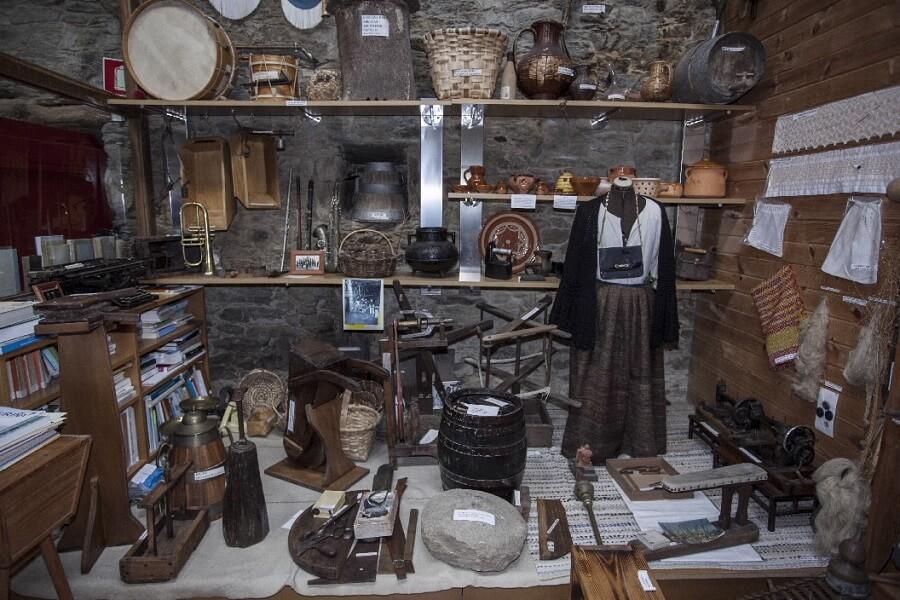 Casa Museo Neira Vilas en Vila de Cruces