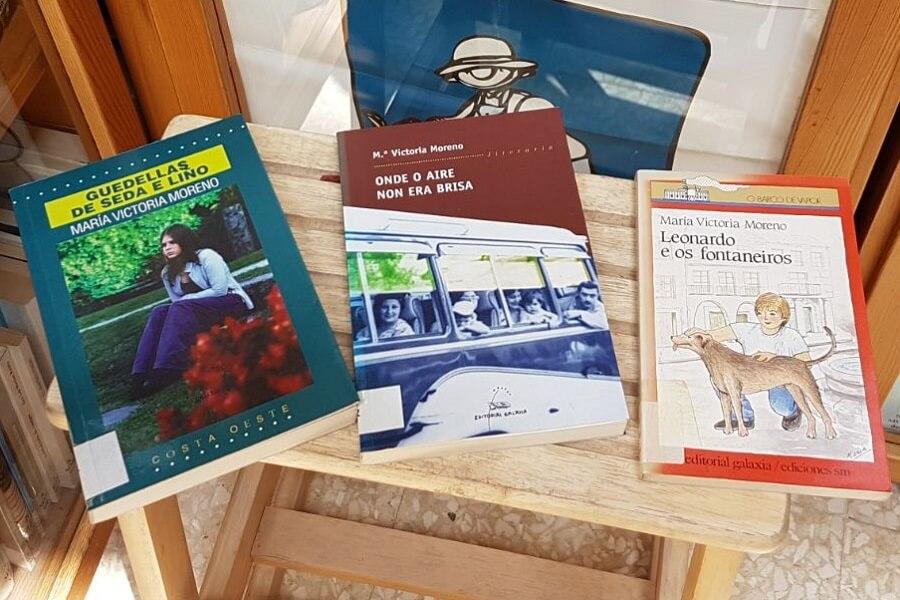Libros de María Victoria Morena, escritora homenaxeada no Día das Letras Galegas 2018