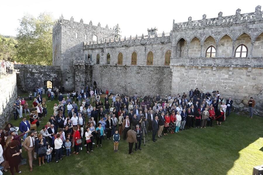 Encuentro de turismo digital en el Castillo de Soutomaior, Pontevedra