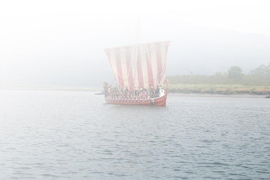 Barco vikingo de Catoira, Pontevedra