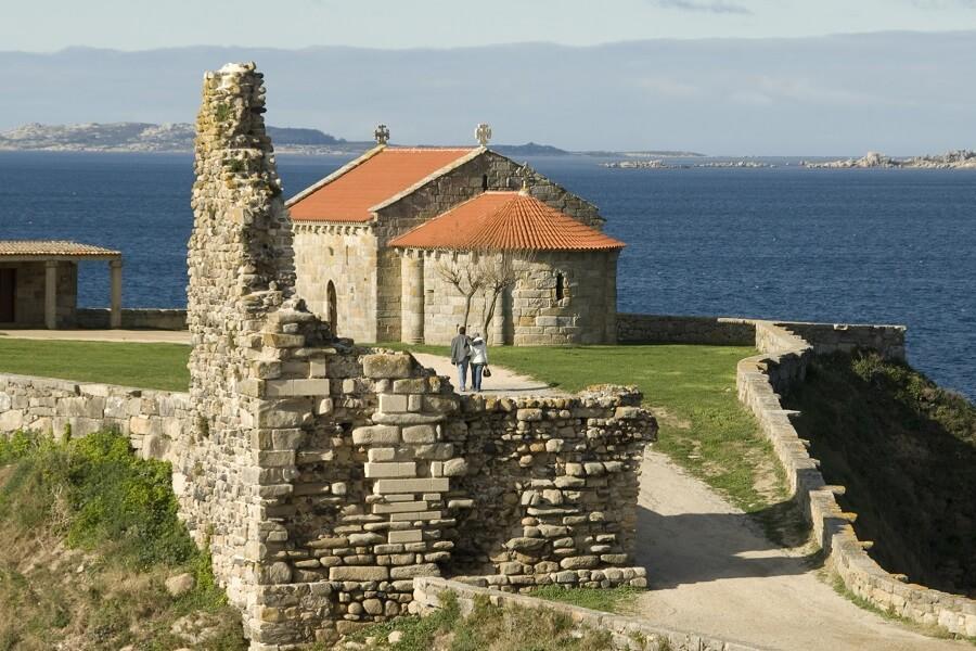 tower in A Lanzada (Sanxenxo):