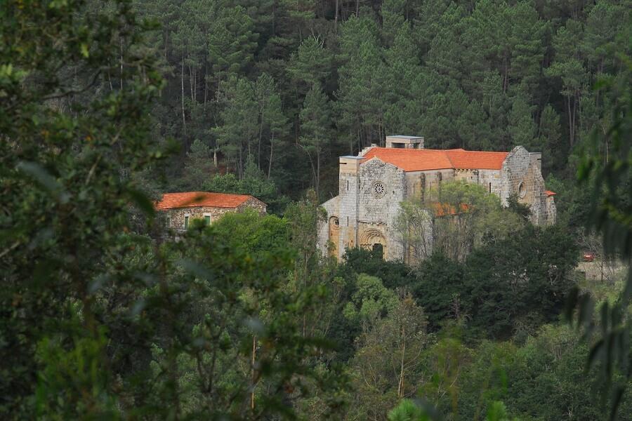 Monasterio de Carboeiro en Silleda