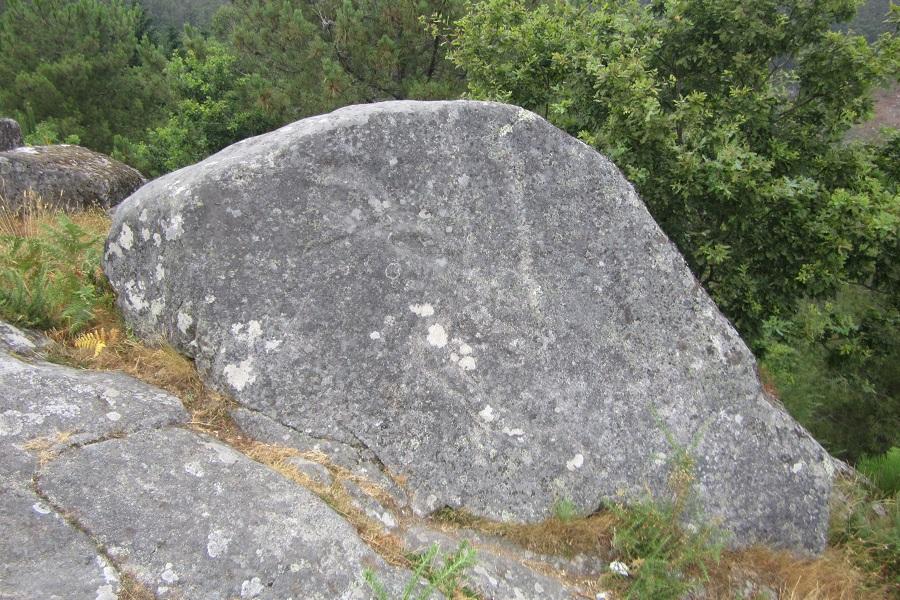 Pedra da Serpe en Campo Lameiro