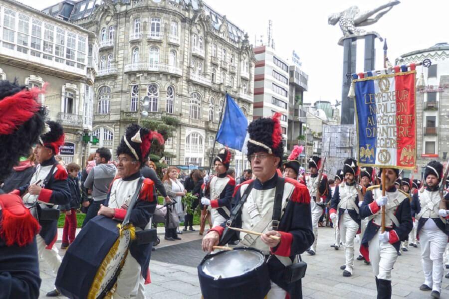 Fiesta de La Reconquista en Vigo