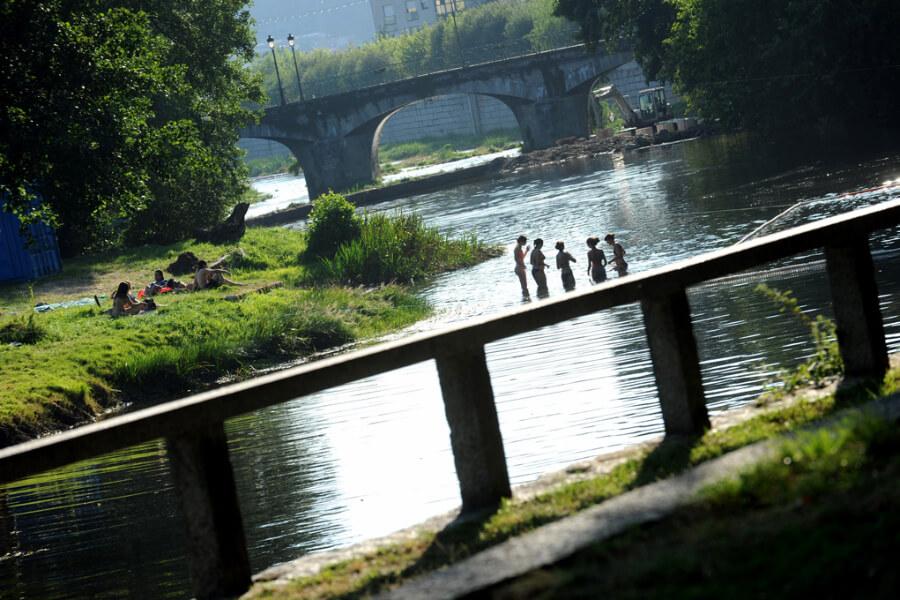 Río Umia, Caldas de Reis
