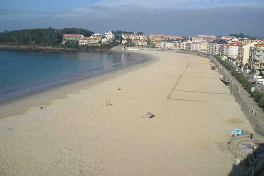 Playa de Silgar, Sanxenxo, Pontevedra