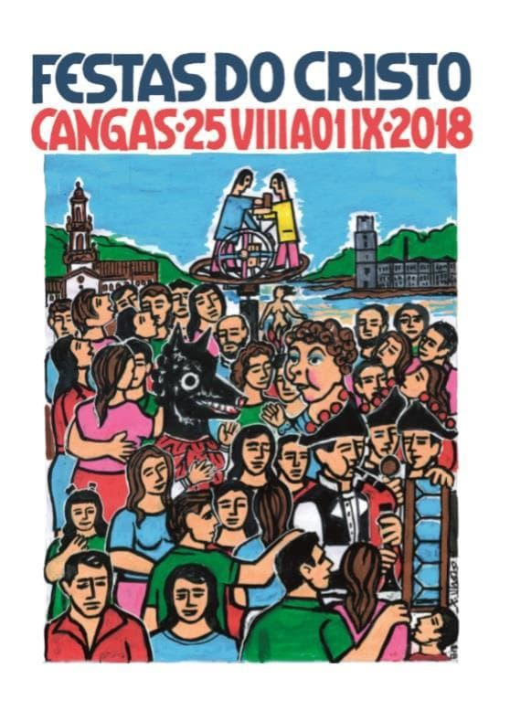 Cartel Festa do Cristo de Cangas