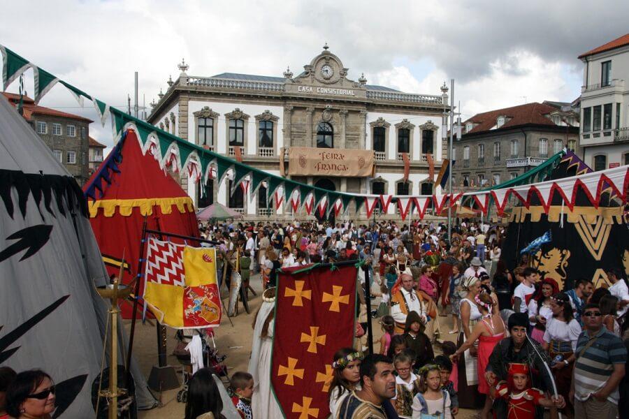 Feira Franca, Fiesta medieval en Pontevedra