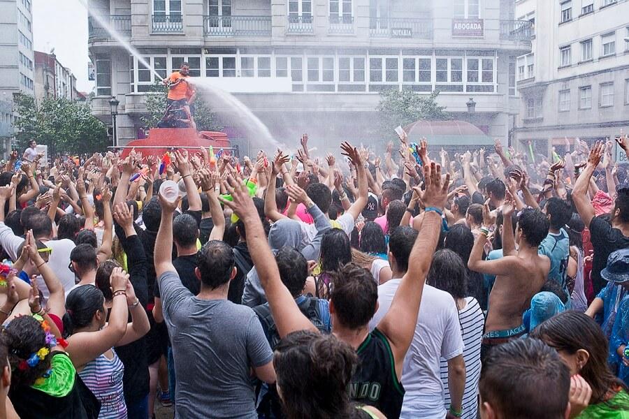 Fiesta del Agua en Vilagarcía de Arousa