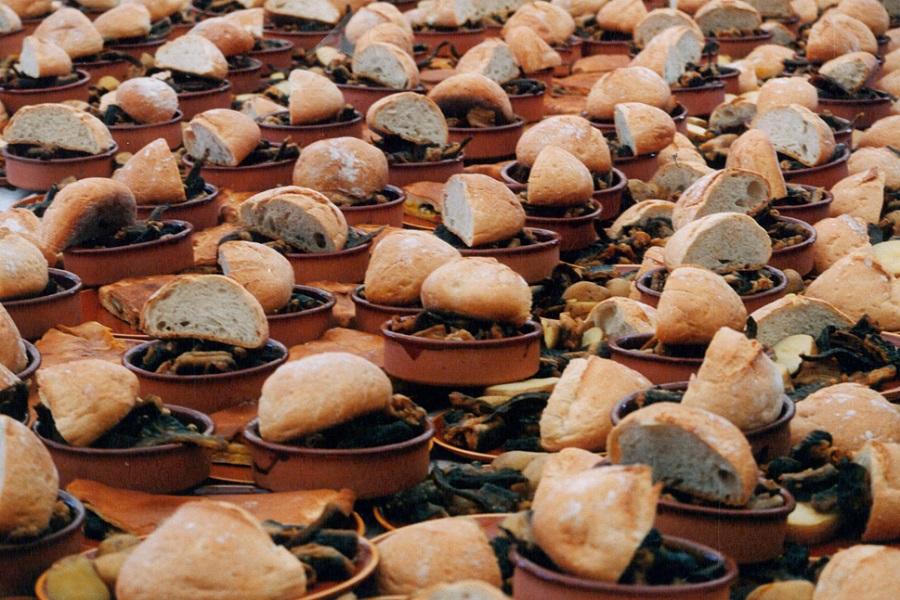 Fiesta de la Anguila y Aguardiente en Valga, Pontevedra