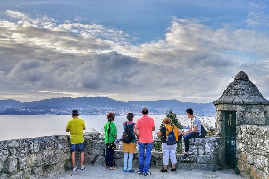 Mirador O Castro, Vigo