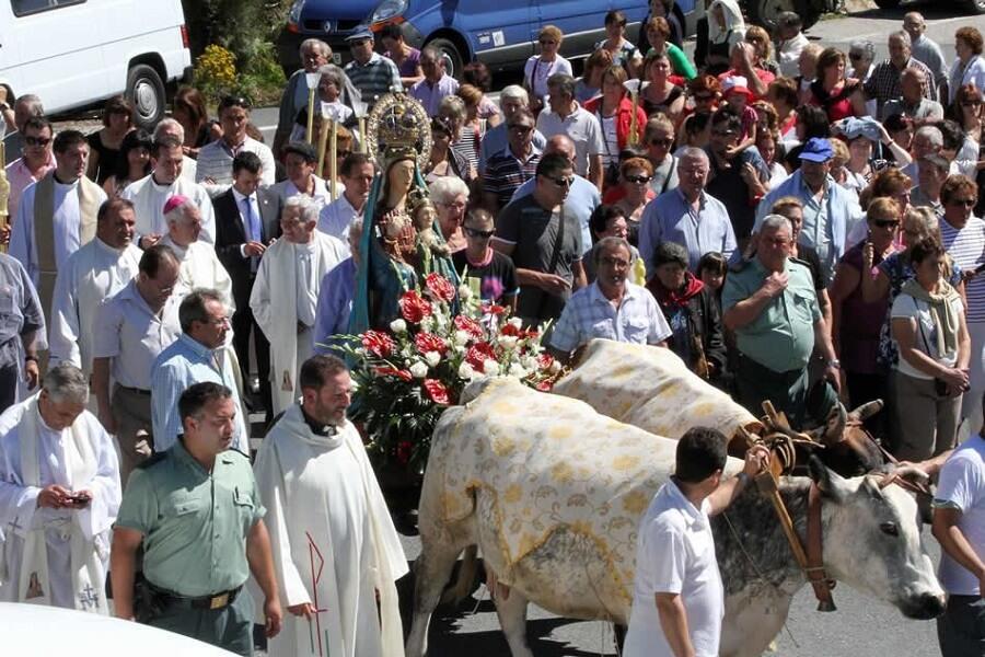 Romería de la Virgen da Franqueira en A Cañiza, Pontevedra