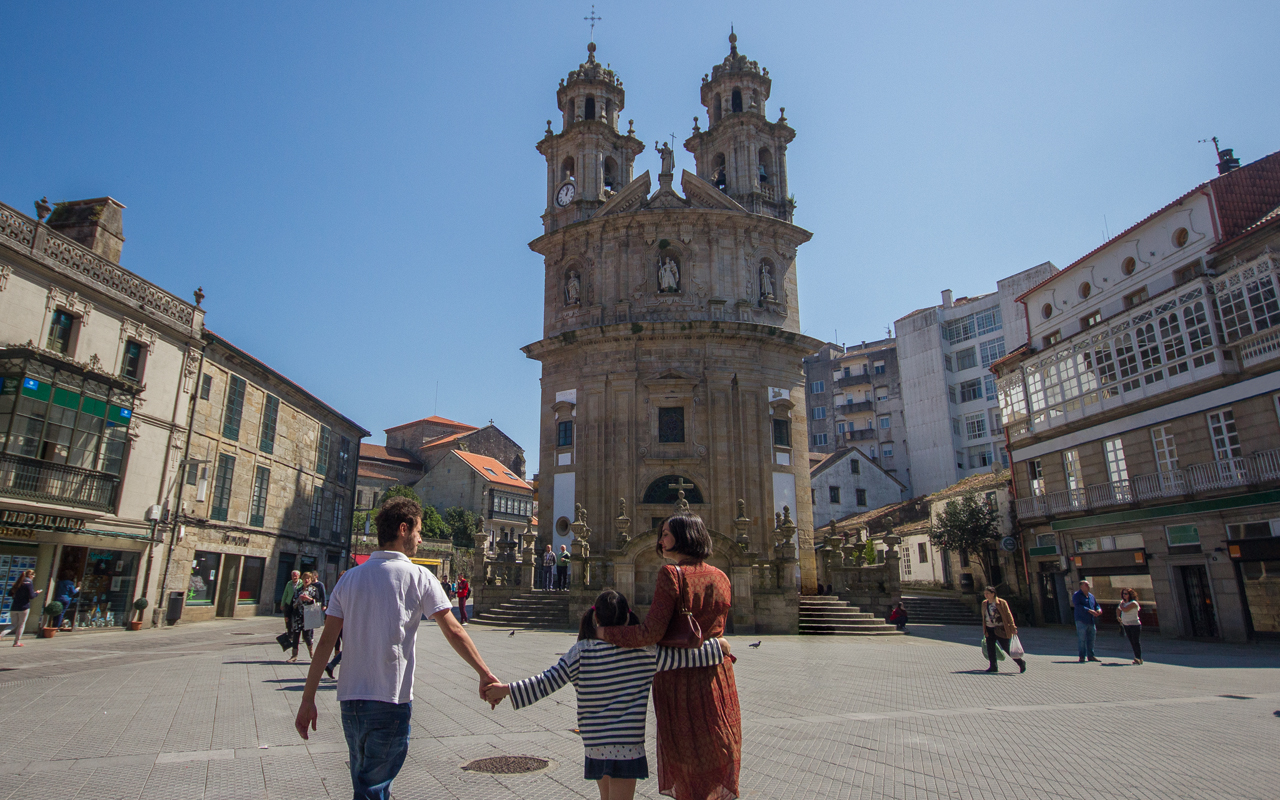 Discover Pontevedra's complex of historical and artistic monuments