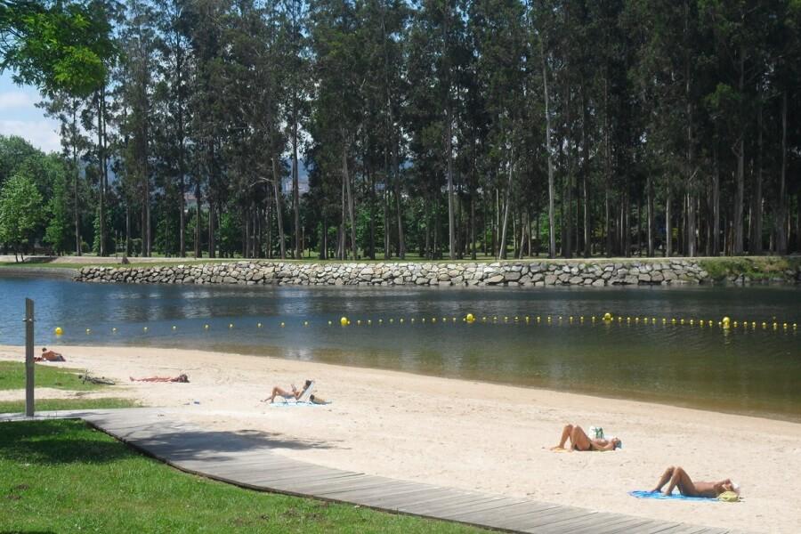 Playa Fluvial Lérez, Pontevedra