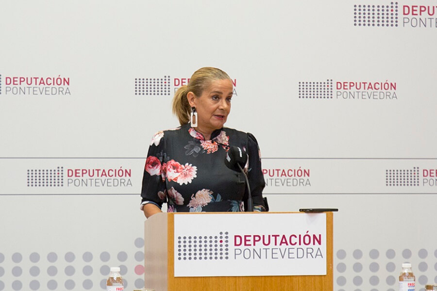 Carmela Silva, presenta proyecto de turismo y nuevas tecnologías para las Rías Baixas