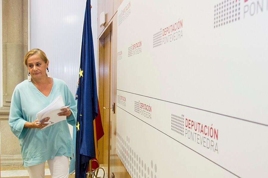 Rueda de Prensa sobre turismo de la Presidenta de la Diputación de Pontevedra