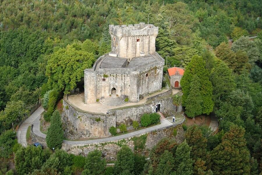 Castillo de Sobroso, Mondariz