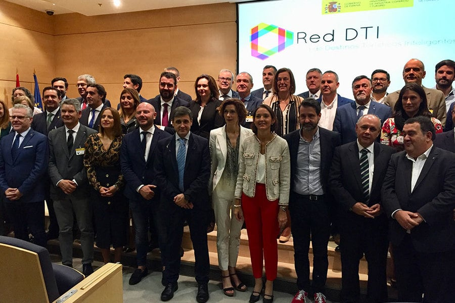 Constitución da Rede Estatal de Destinos Turísticos Intelixentes en Madrid