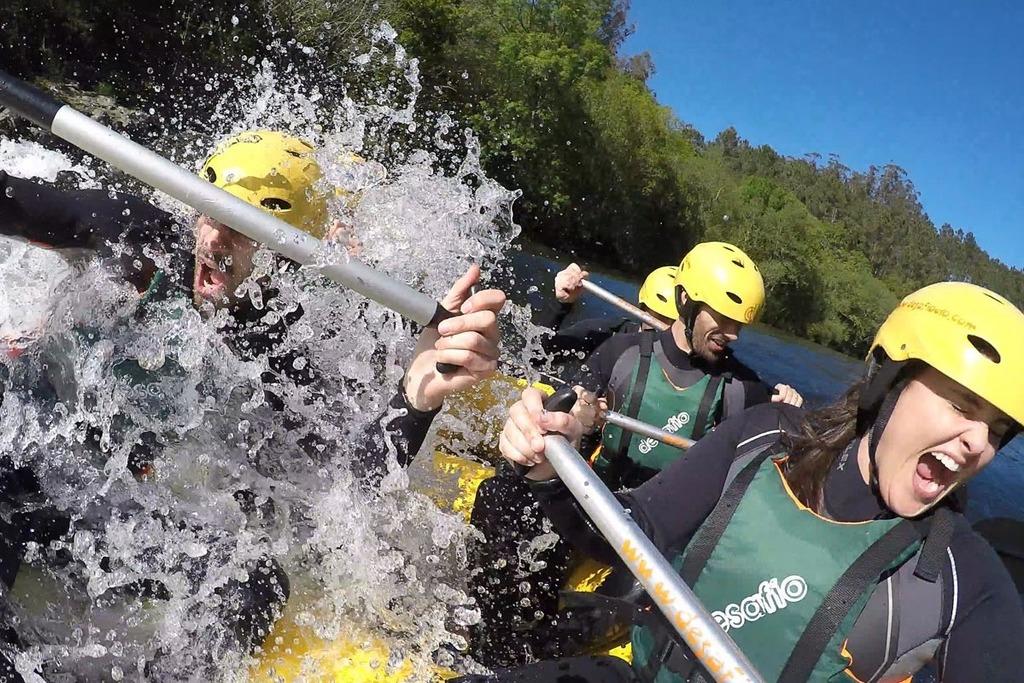 Barranquismo y turismo activo en la provincia de Pontevedra