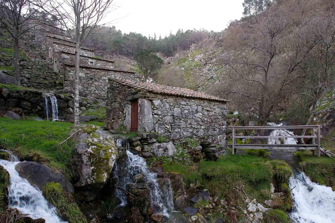 Centenary mill in O Rosal