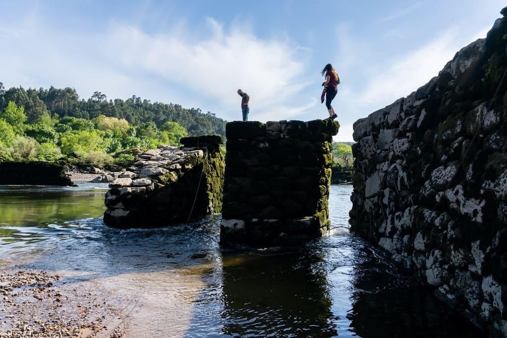 Pesqueira río Miño