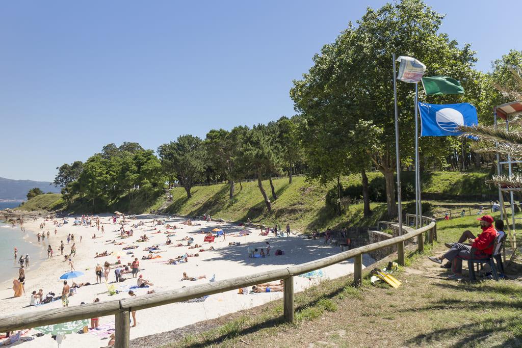 Playa en Rías Baixas