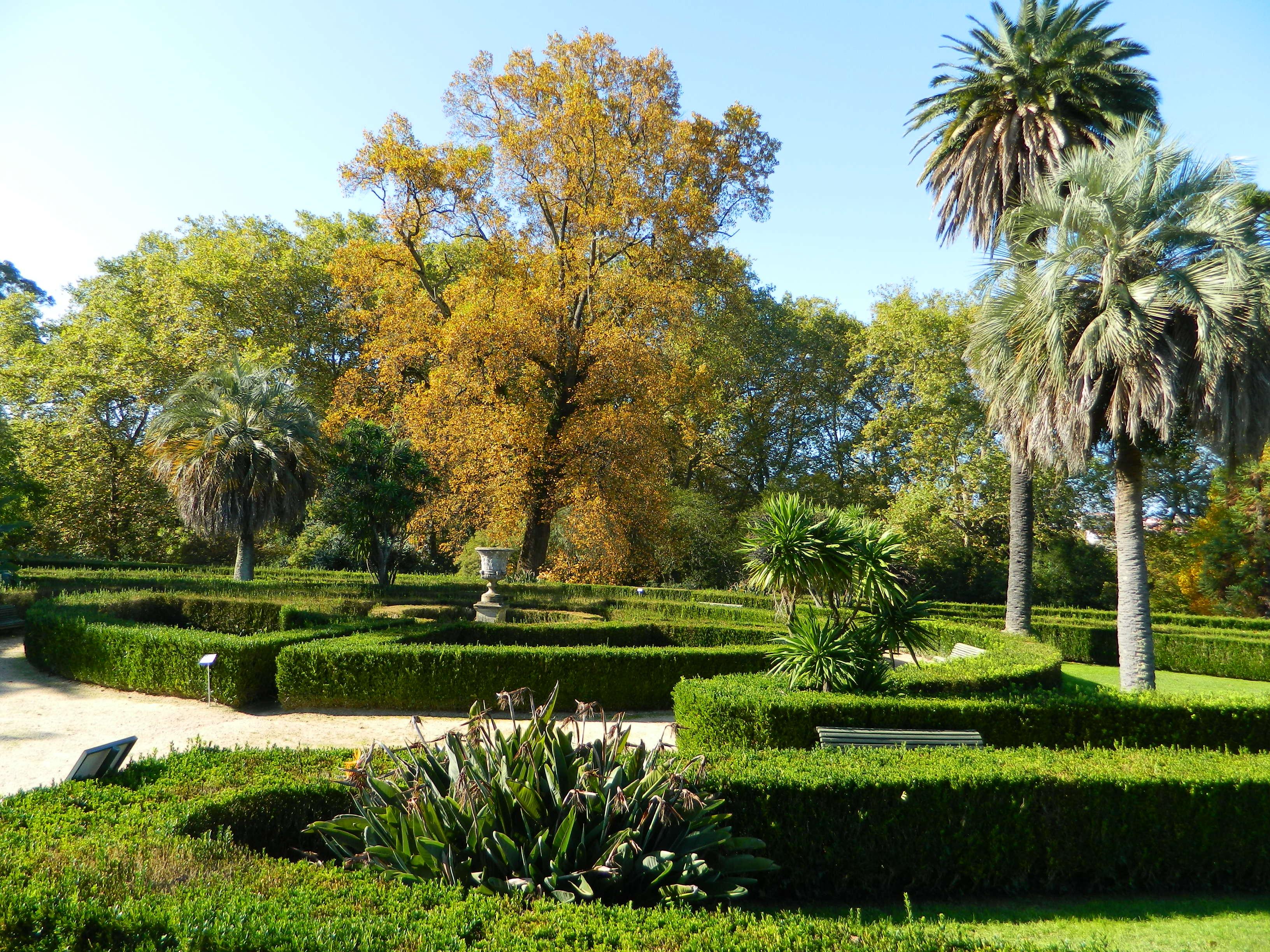 Castrelos, jardín francés